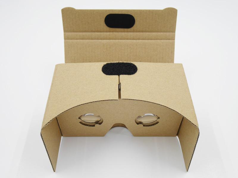 組み立て式VRゴーグル