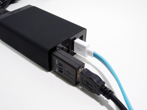 """こういうのが欲しかった!USBの""""電源スイッチだけ""""100円。"""