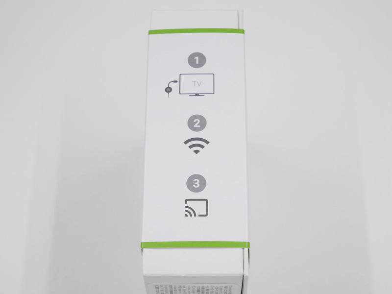 Chromecast 2015年モデル 外箱
