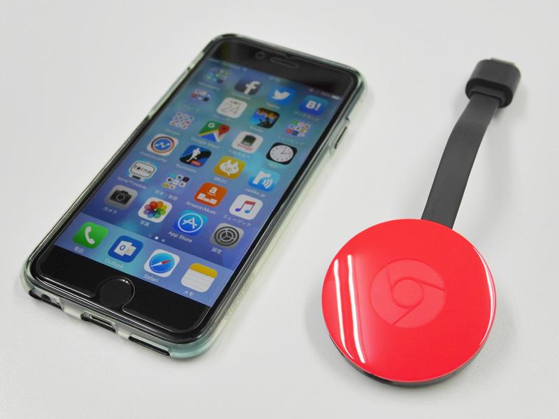 Chromecast 2015年モデル サイズ