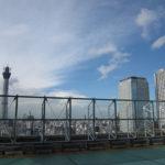 東京スカイツリーが間近に見える屋上