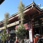 浅草寺で年始のおみくじ