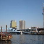 浅草橋から両国まで隅田川沿いを散歩。