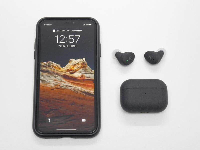 ag COTSUBUとiPhone 11とのサイズ比較
