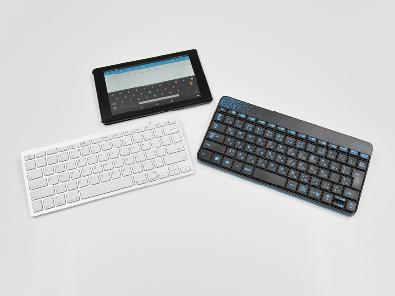 FireHD8タブレットとBluetooth / 無線キーボード
