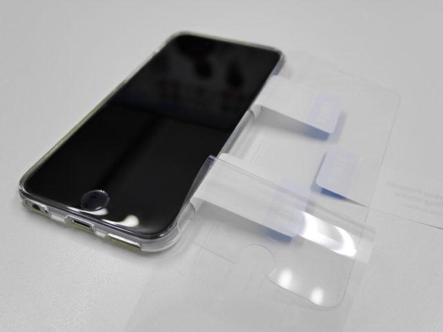 強化ガラス液晶保護フィルム貼り付け手順その8