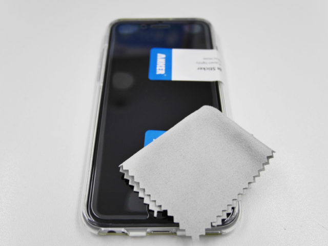 強化ガラス液晶保護フィルム貼り付け手順その10