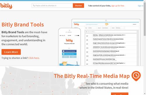 Bit.ly Webサイト