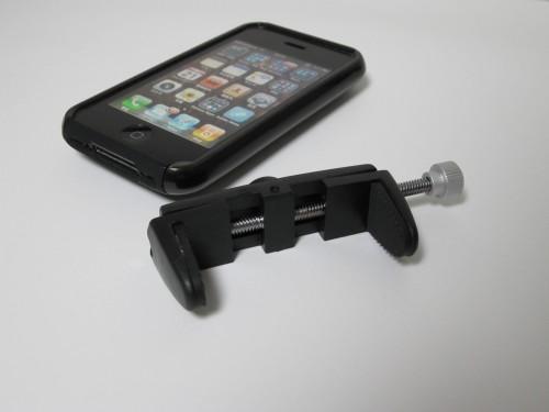 携帯電話用 三脚固定ホルダー