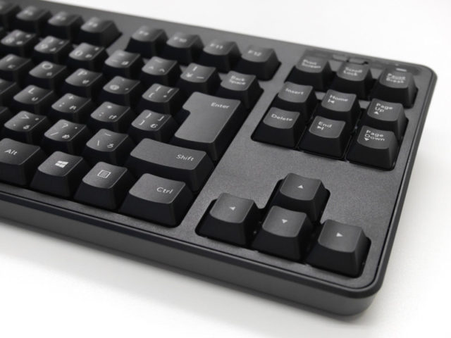 TK-FDM105MBKのキーボード