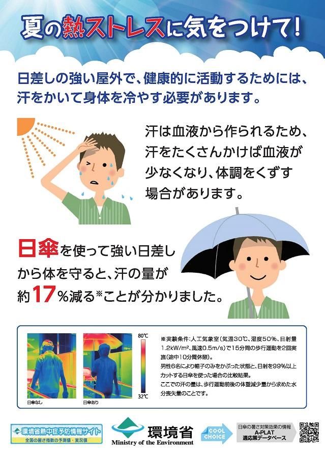 夏の熱ストレスに気をつけて!