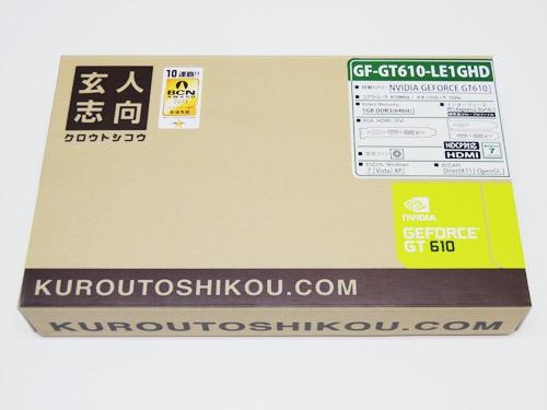玄人志向 GF-GT610-LE1GHD
