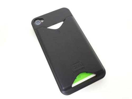 Case-Mate iPhone4 専用 カードホルダー付ハードケース