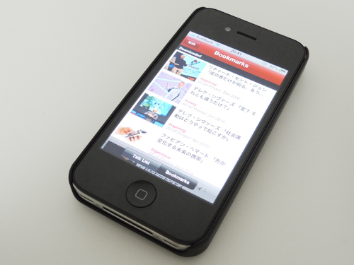 修理から戻ったiPhone 4S
