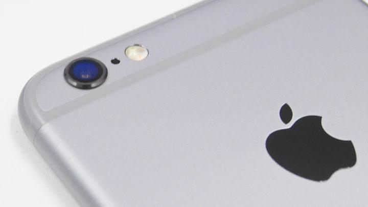 iPhone 6s カメラレンズ