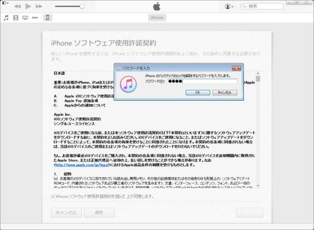 iPhoneソフトウェア使用許諾契約