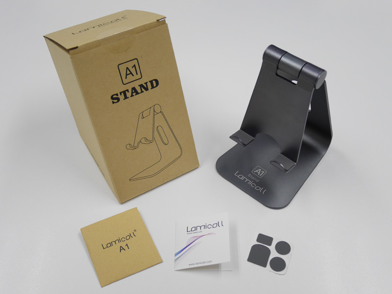 amicall A1 Tablet Stand - 同梱物