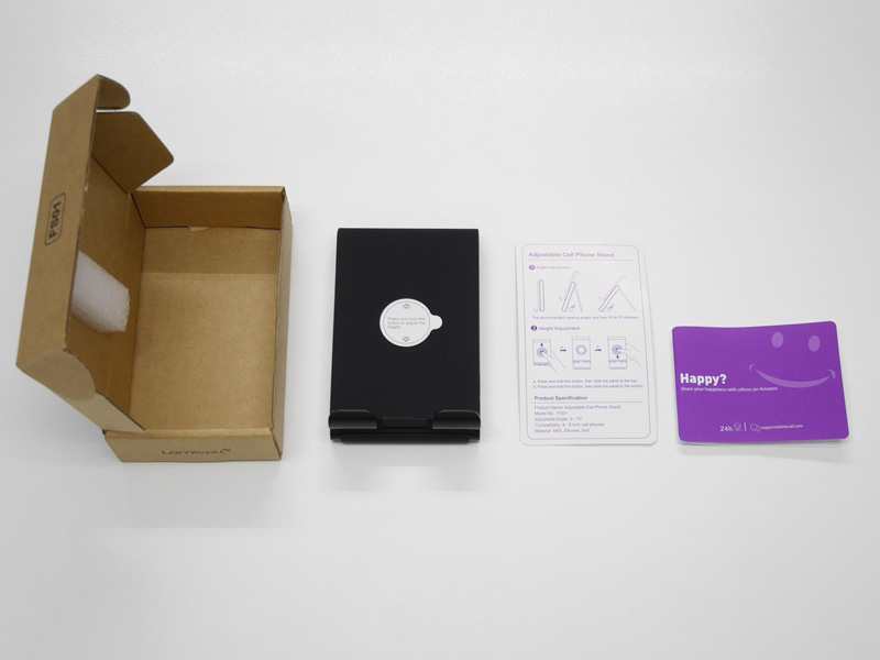 Lamicall Foldable Phone Holder FS01 セット内容