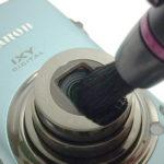 レンズに付いた指紋はレンズペンで消そう ハクバ レンズペン2 ミニプロ