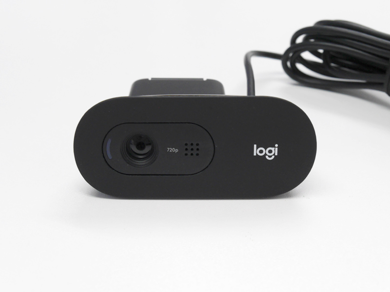 Logicool C505 HDウェブカメラの外観