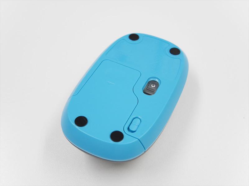 Logicool MK240 マウス背面