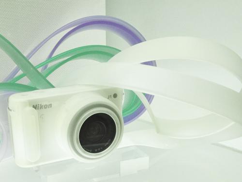 Nikon 1 J1用シリコンカメラカバー