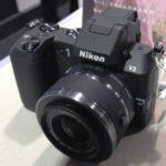 ニコンプラザ新宿でNikon 1 V2を見てきた。