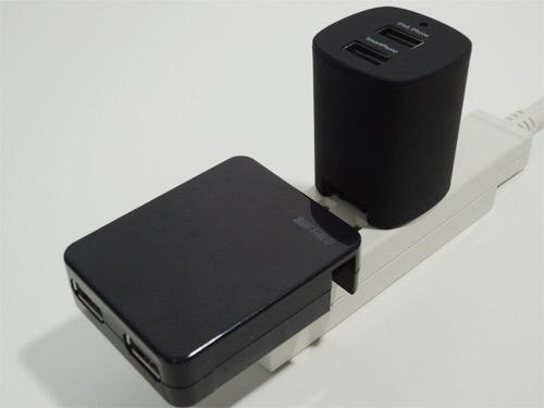 2ポート USB充電器
