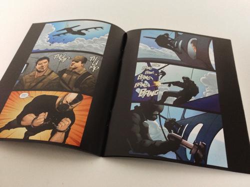 ダークナイト トリロジー ブルーレイBOX コミックブック