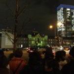 東京ミチテラス2012のプロジェクションマッピングを見てきた。