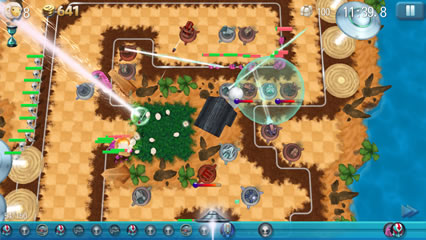 Tower Madness2プレイ画面