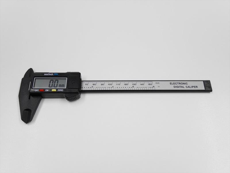 waves デジタルノギス 電池付 150mm