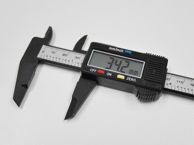 デジタルノギスの使い方 - mm表示